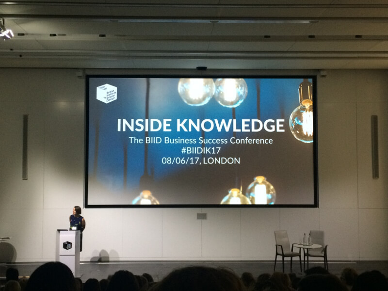 Biid Business Success Conference Inside Knowledge 2017 Rethink Interiors