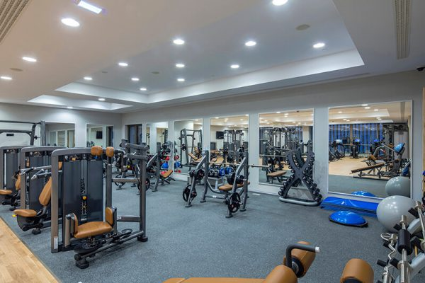 HHP spa fitness room