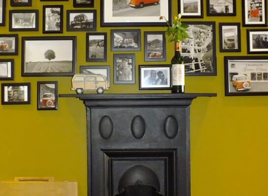 Streatham Wine House Fireplace