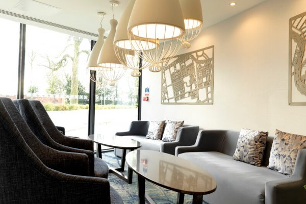 DoubleTree Chester Reception Area